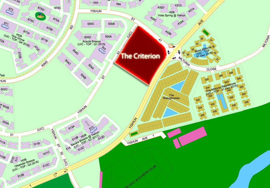 The Criterion EC Location by CDL