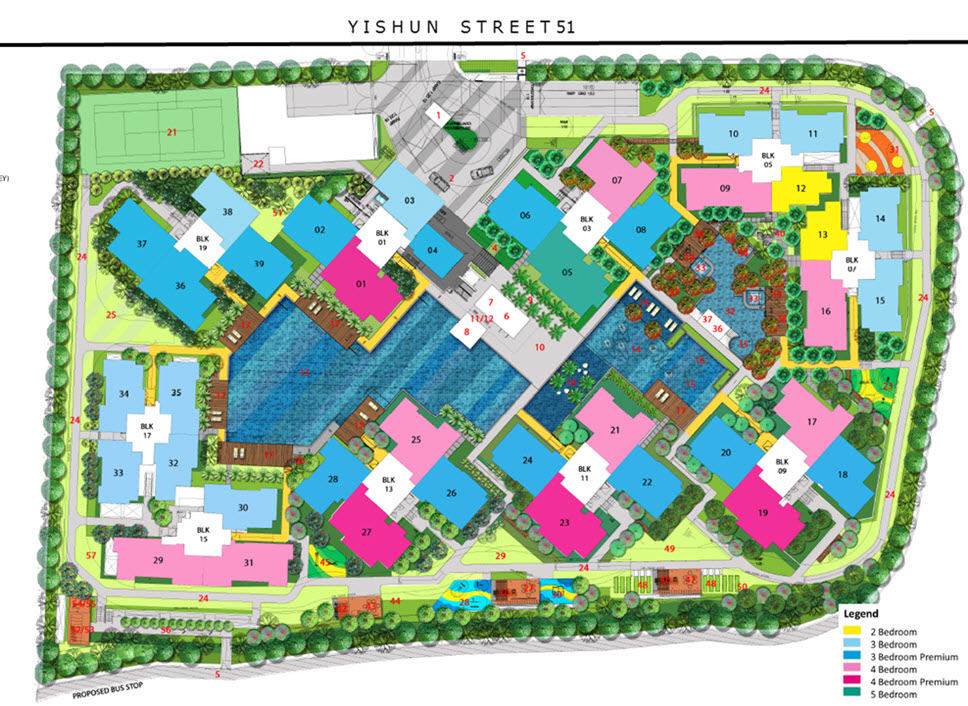 The Criterion EC Site Plan – Plot Plan And Site Plan